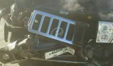ثلاثة جرحى في تصادم على أوتوستراد بشري وإصابة طفل صدما على طريق كفركلا