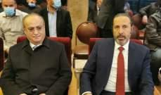 وهاب قدّم التعازي بوفاة المعلم في دمشق وأثنى على الدور الذي لعبه