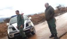 شرطة بلدية طرابلس قطعت طريق وادي هاب بالاتجاهين لإزالة الصخور والحجارة التي جرفتها الأمطار