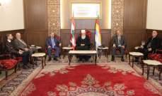 الحسنية بعد زيارة الحسن: منح الثقة للحكومة او عدمها مرتبط بالبيان الوزاري
