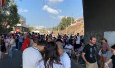 اشكال بين محتجين ومواطنين على اوتوستراد البترون والجيش يتدخل