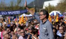 رئيس كتالونيا المعزول: يمكننا التخلي عن فكرة انفصال الإقليم