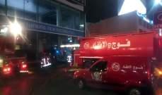 فوج اطفاء بيروت: نحن بفاجعة وليس لدينا قدرات لقمع المتظاهرين
