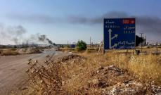 حالات اختناق بغازات في شمال غرب حماة بعد استهداف بقذائف صاروخية