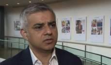 عمدة لندن طلب من سكان المدنية عدم الخروج من المنزل إلا للضرورة