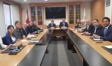 عربيد يلتقي رئيس بعثة صندوق النقد الدولي