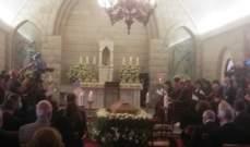 بدء جنازة المطران يوسف بشارة برئاسة الراعي