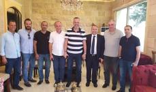 حبيش زار رئيس بلدية ذوق حدارة: نسعى لصرف المخصصات العالقة من الصندوق البلدي المستقل