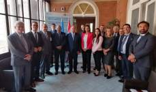 اللقيس ترأس اجتماع مع الهيئة العامة لمصايد الأسماك في البحر المتوسط