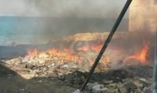 مجهولون أحرقوا أكوام نفايات في سير الضنية