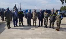 النشرة: الكتيبة الاسبانية قدمت لوازم طبية إلى مركز الدفاع المدني في راشيا الفخار