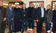جمعية علم بالقلم ومركز الهدى كرما سفير تركيا والطبش في بحنين