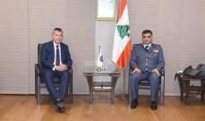 اللواء عثمان استقبل منسق انشطة الامم المتحدة في لبنان فيليب لازاريني