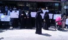 اعتصام لأهالي الموقوفين الاسلاميين امام سجن القبة في طرابلس
