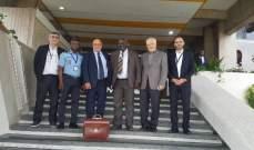حمدان وصل الى ابيدجان ممثلا بري للمشاركة في الذكرى السنوية ٤١ لإخفاء الامام الصدر