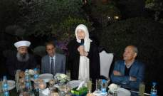 بهية الحريري: صيدا ستنتصر في 6 ايار لتنميتها ولإعتدالها بإرادة ابنائها