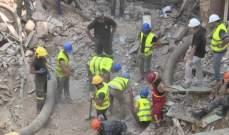 الرئيس عون تابع مجريات عملية البحث عن مفقودين تحت انقاض البناء المهدم في مار مخايل