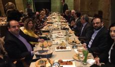 """عشاء لمصلحة الأساتذة الجامعيين في القوات اللبنانية تحت عنوان """"من قلب العتمة نور"""""""