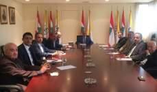 فرحات: وضع المنطقة يفرض علينا الإتفاق الداخلي حفاظا على إستقرار لبنان