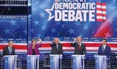 """خسارة لبلومبرغ وهزيمة لـ""""الوسطيين"""" بمناظرة الديمقراطيين في نيفادا"""