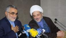 عبدالله التقى بروجردي: قوى الشر تكالبت على خط المقاومة للقضاء عليه
