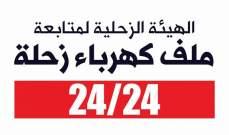 الهيئة الزحلية تعلّق اعتصام 17 تشرين افساحاً لمفاوضات حول قانون تعاقد كهرباء زحلة