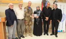 الكتيبة الايطالية تقدم هبة لمدرسة الإشراق في بنت جبيل