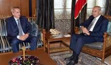بري استقبل حاكم مصرف لبنان والمطران مطر وأبرق الى الرئيس البرازيلي