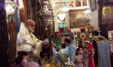 اهالي صيدنايا احتفلوا بعيد السيدة العذراء في دير الشيروبيم