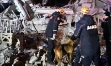 ارتفاع عدد ضحايا زلزال تركيا إلى 19 قتيلا و922 جريحا