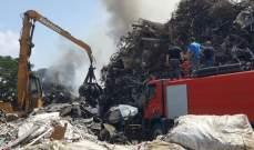 النشرة: النيران تقترب من مركز المعاينة الميكانيكيه في الزهراني