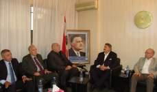 حمدان: هناك في لبنان من يحاول الالتحاق بمشروع الشرق الأوسط الجديد المنهزم