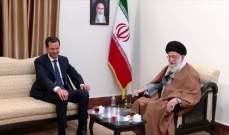 الأسد في طهران... سوريا لن تُدعَى للقمّة العربيّة؟!