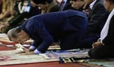 """""""حرييت"""": أردوغان فقد الوعي أثناء صلاة عيد الفطر"""