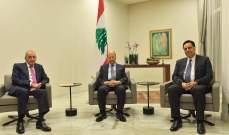 الرئيس عون وبري ودياب يتوجهون إلى الكويت غدًا للتعزية بالأمير الراحل