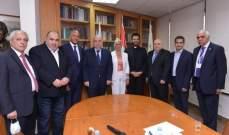 """القصيفي في تكريم رئيسة تحرير صحيفة """"آرارات"""": الشعب الأرمني انتصر لقضيته"""