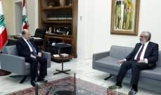 """الرئيس عون يلتقي رئيس كتلة """"نواب الأرمن"""" هاغوب بقرادونيان"""