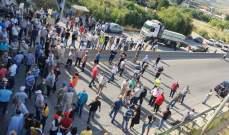 التحكم المروري: إعادة فتح السير على أوتوستراد شكا بعد إقفاله لبعض الوقت