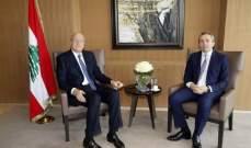 """رامبلينغ وضع ميقاتي في صورة دعم بريطانيا للبنان لتطبيق مقررات """"سيدرز"""""""