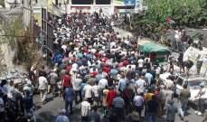 النشرة: اعتصام عند مدخل مخيم الرشيدية رفضا لقرار وزير العمل بحق الفلسطينيين