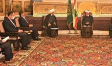 شهرياري من دار الفتوى: مواقف المفتي دريان حكيمة وبناءة تركز على تعزيز الوحدة