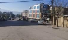 النشرة: مدينة بعلبك والقرى المحيطة التزمت بقرار حظر التجول