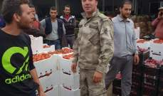 النشرة: الجمارك تضبط كميات من الخضار المهربة من سوريا في سوق الخضار بالفرزل