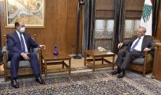 بري بحث مع مساعد الامين العام للجامعة العربية الأوضاع العامة في لبنان والمنطقة