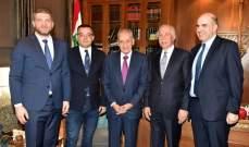 بري التقى وزير الزراعة الصربي والسفير الايراني