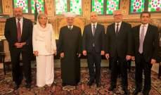 حاصباني: على لبنان البقاء بعيدا عن المحاور التي تنطلق من صراعات قديمة وجديدة