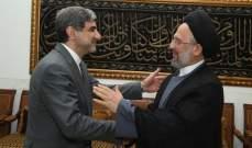 فضل الله خلال لقائه السفير الايراني: لتعزيز العلاقات عبر مؤسَّسات حواريَّة