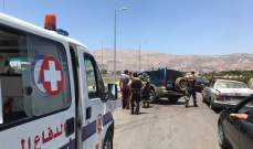 الدفاع المدني: جريح جراء حادث سير على الاوتوستراد العربي في تعنايل