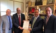 النقيب القصيفي زار القنصل اللبناني والمطران رباط ومجلس النواب في سيدني