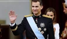 ملك إسبانيا يدعو سانشيز لتشكيل حكومة لإنهاء الأزمة السياسية